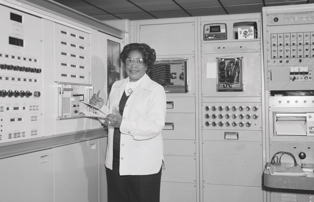 Mary Jackson at Work NASA Langley © NASA