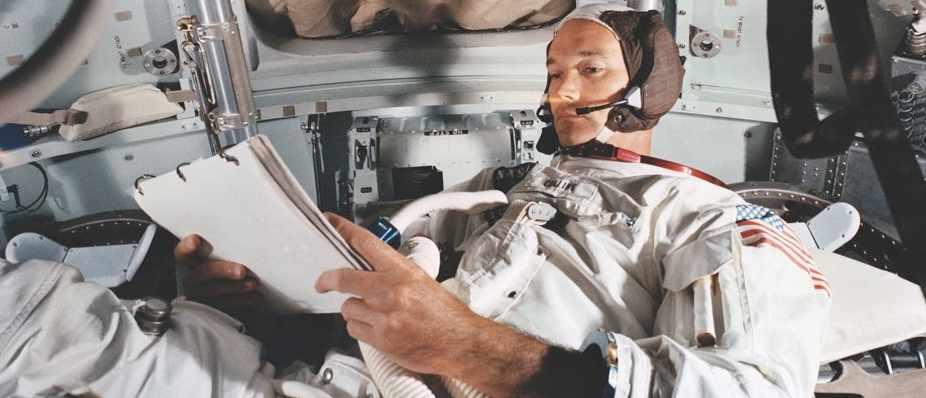 Michael Collins: Apollo 11 command module pilot © NASA/JSC