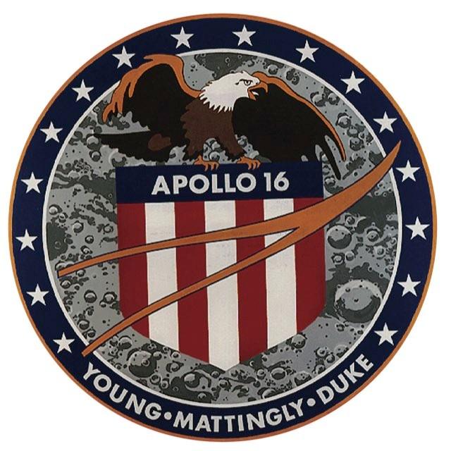 Apollo 16 patch