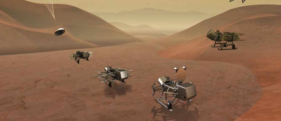 NASA to send a drone to explore Saturn's biggest moon © NASA