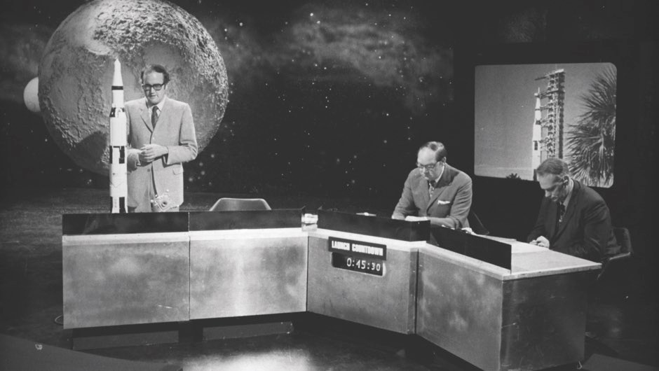 On air, on the Moon: BBC presenters recall the night of the Moon landing