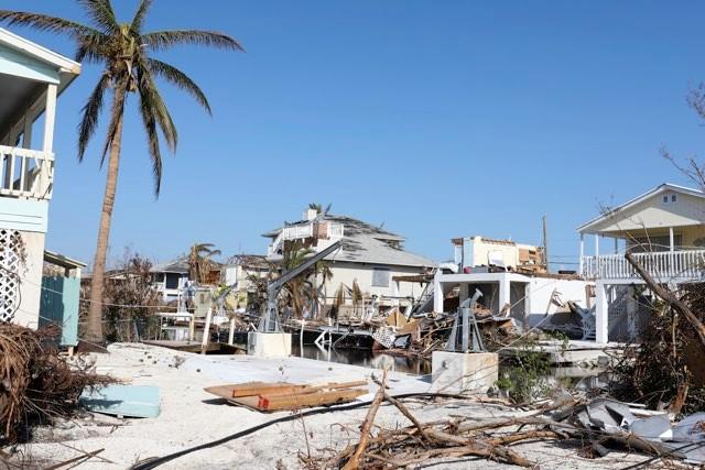 Ramrod Key in Florida Keys after Hurricane Irma © Getty Images