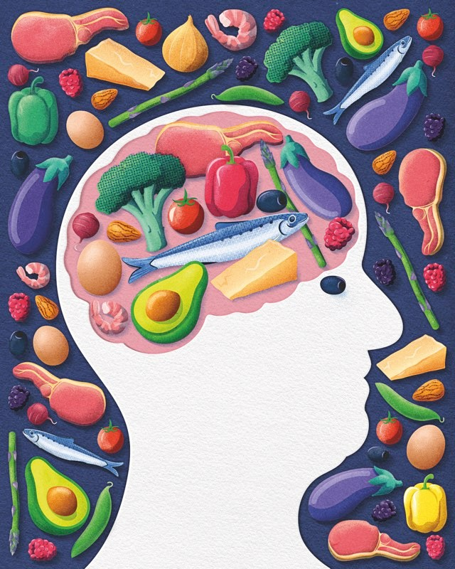 Could a low-carb diet help boost brain function? © Dan Bright