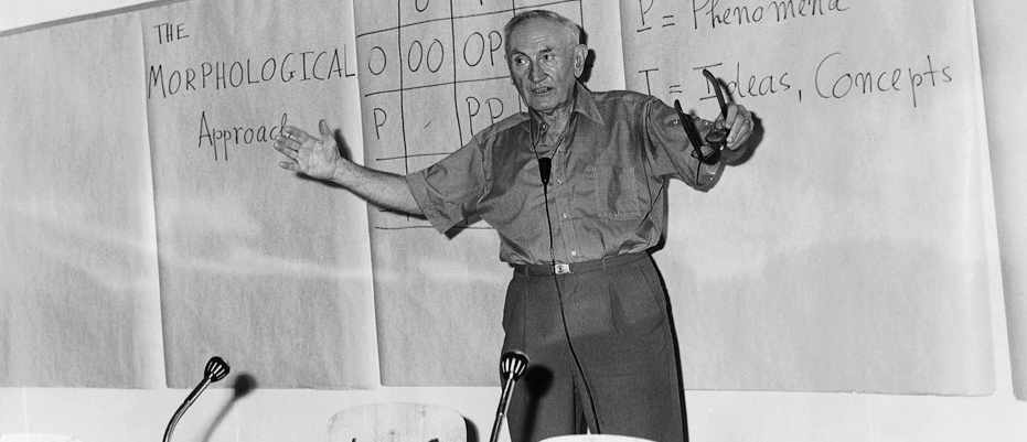 "Fritz Zwicky: ""part eccentric, part genius, completely uncontained"""