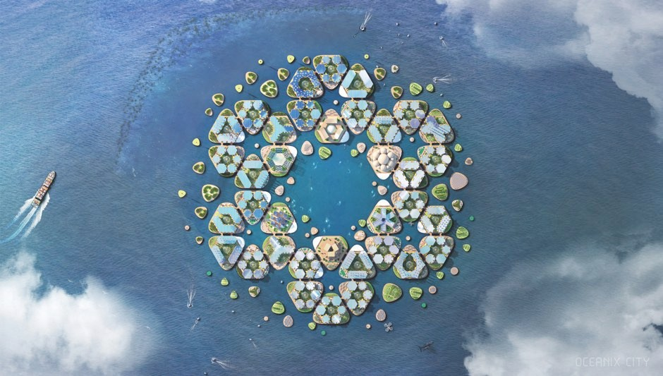 Oceanix © Bjarke Ingels Group