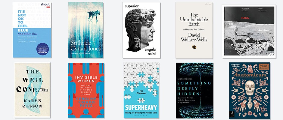 The 10 best science books of 2019
