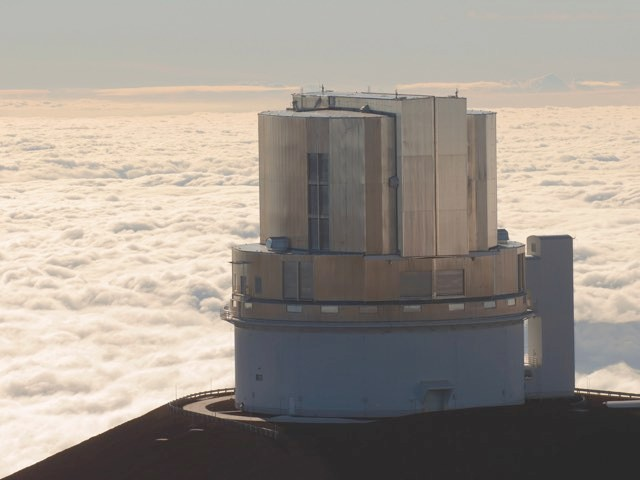 The Subaru Telescope on top of Hawaii's Mauna Kea is being used to search the skies for Planet Nine © Alamy