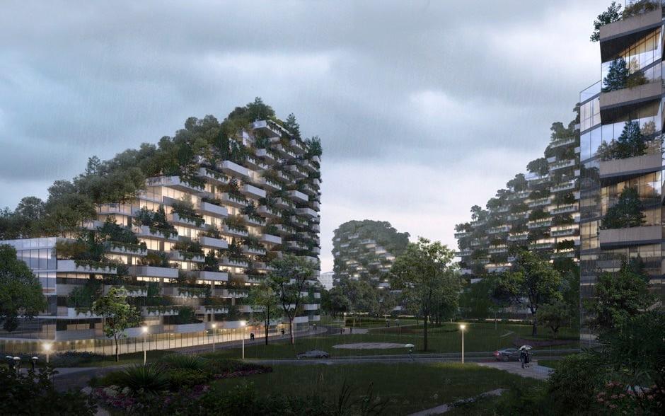 Liuzhou Garden City © Stefano Boeri Architetti