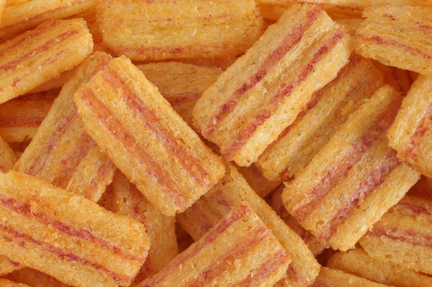How can meat-flavoured crisps be vegetarian? © Getty Images