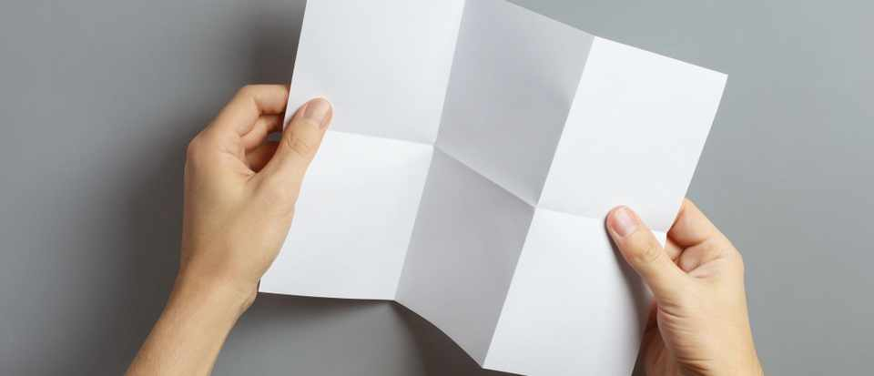 What's the maximum number of times that you can fold a piece of paper? © Getty Images