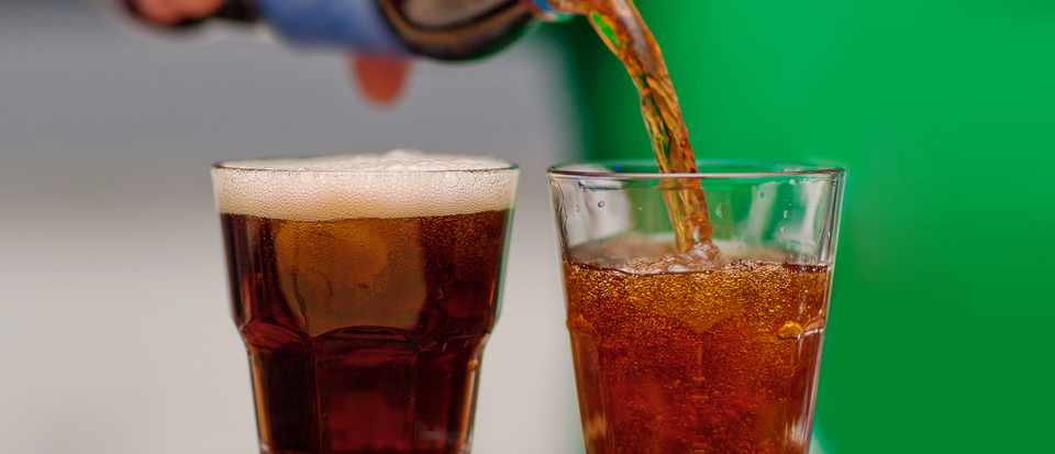 Does the carbon dioxide released from fizzy drinks affect the atmosphere? © Getty Images