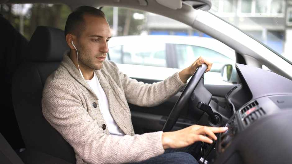If I'm listening to a podcast while driving, am I doing two things at once? © Getty Images