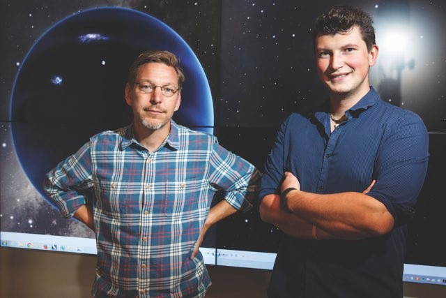Mike Brown (left) and Konstantin Batygin (right) are searching the skies for objects beyond Neptune, including Planet Nine © Getty Images