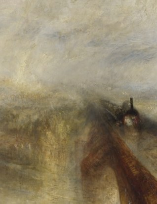 Rain, Steam, and Speed - The Great Western Railway by Joseph Mallord William Turner, 1856 © The National Gallery, London