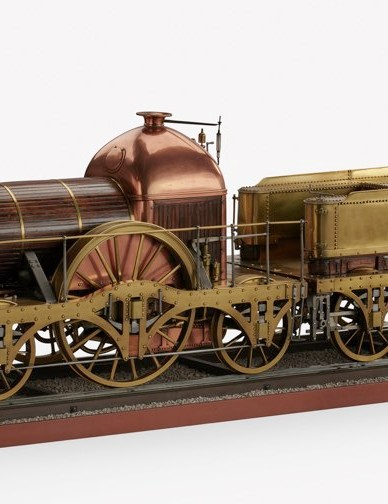Model of Firefly class locomotive, 1838 © Science Museum Group