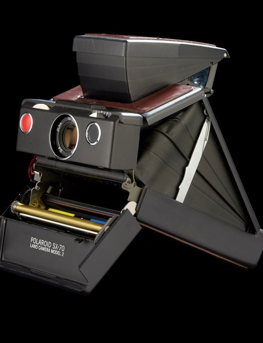 Polaroid SX-70 Land camera Model 2, 1974-1977 © Science Museum Group