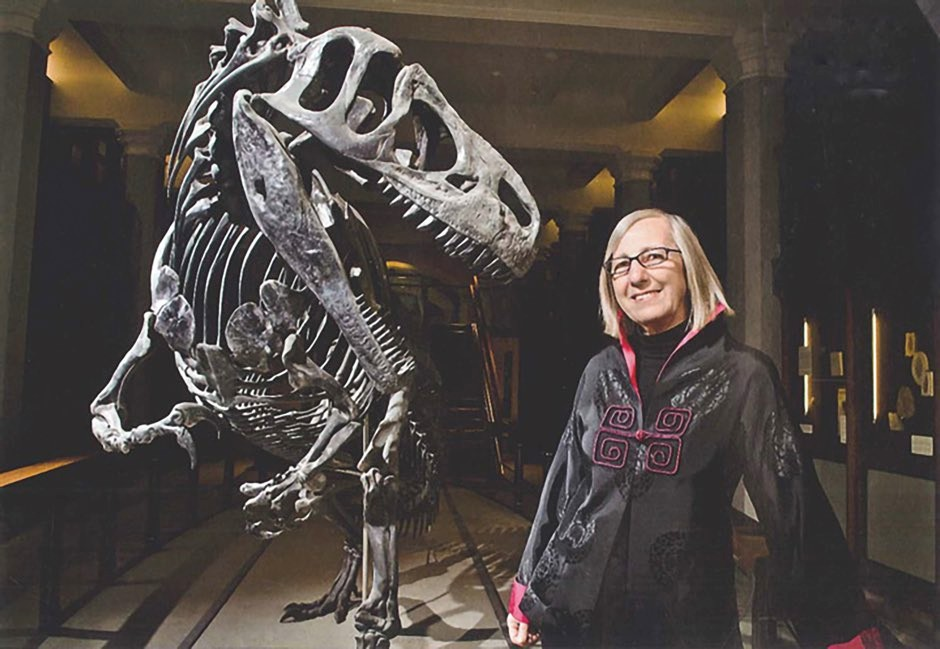 Princeton University palaeontologist Prof Gerta Keller has been studying the impact of volcanic eruptions © Peter Murphy