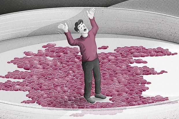 Am I more bacteria thanhuman? © Dan Bright