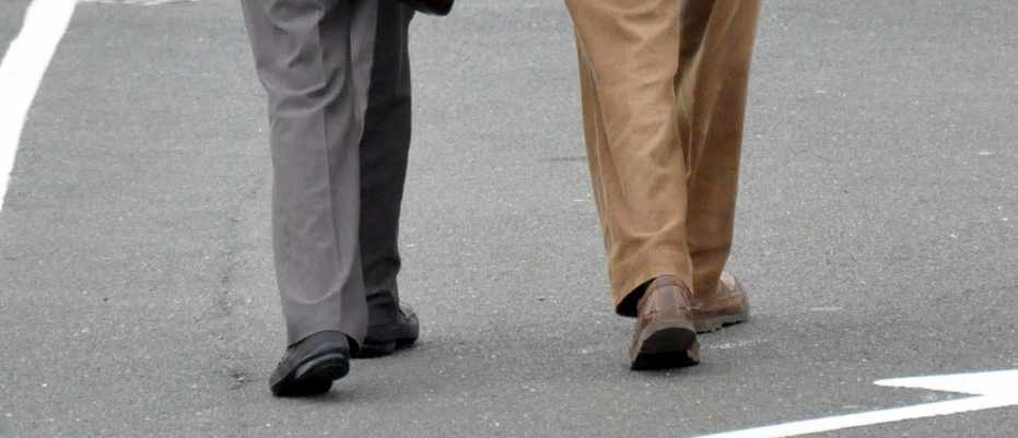 Changes in walking could diagnose dementia types © Kirsty O'Connor/PA
