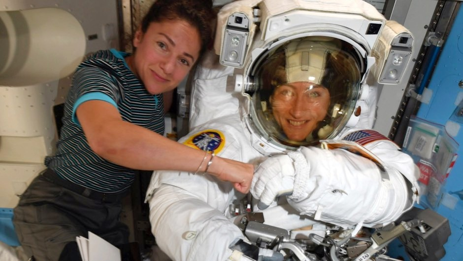 First all-female spacewalk finally confirmed for this afternoon
