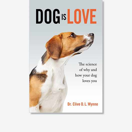 Dog is Love by Clive Wynne (£20, Quercus) is out now.