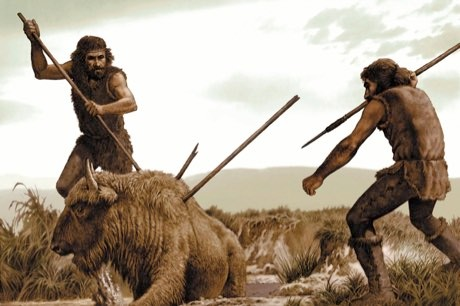 The invention of spears and bows and arrows may have helped early humans drive Neanderthals to extinction