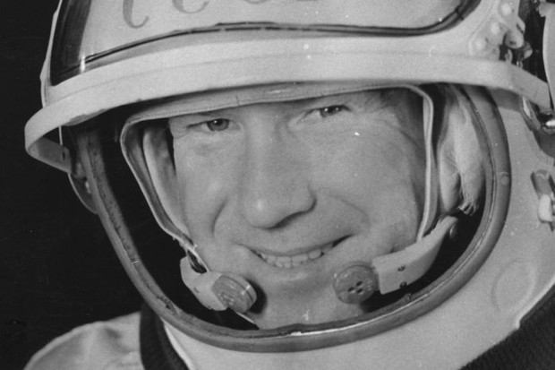 Alexei Arkhipovich Leonov, 1965 © Keystone/Getty Images