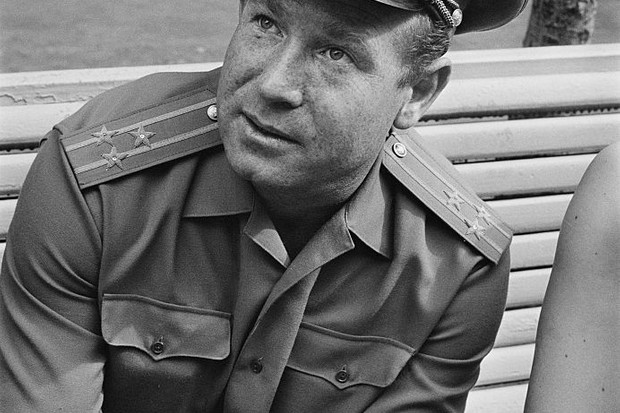 Russian cosmonaut and Air Force Major General, Alexey Leonov in Moscow, Russia, 1967 © William Lovelace/Express/Hulton Archive/Getty Images