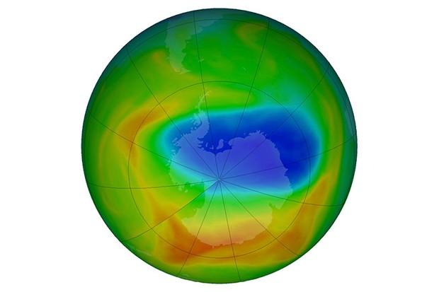 Ozone Hole © Goddard Space Flight Center/NASA via AP