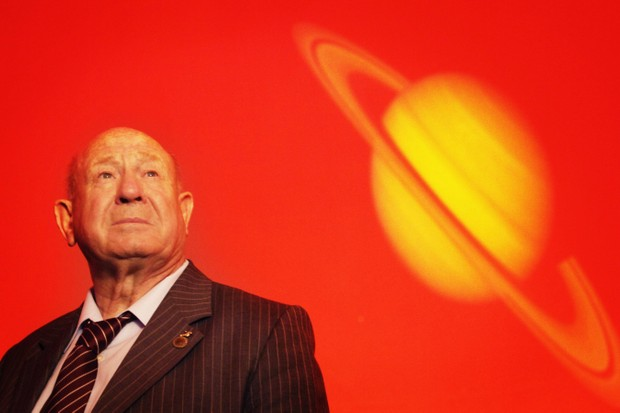 Alexei Leonov died at his home in Moscow on Friday © PA
