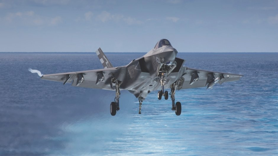 The Lockheed Martin F-35 Lighting II: onboard with the world's most advanced fighter jet