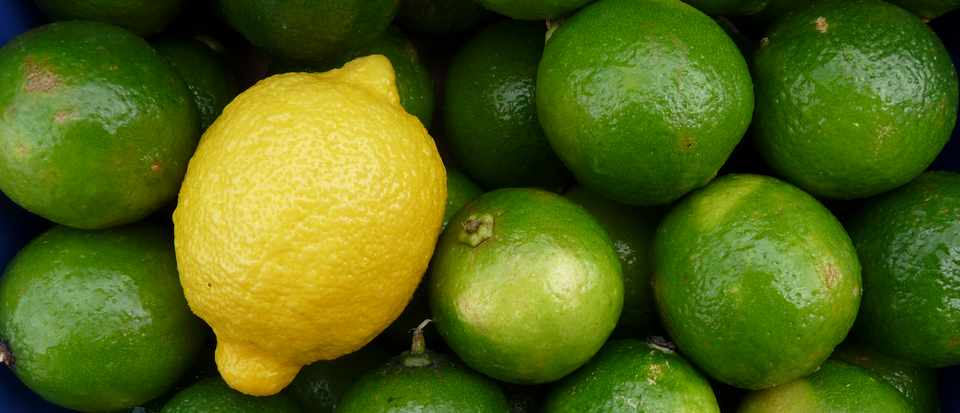 Why are lemons yellow and limes green? © Getty Images