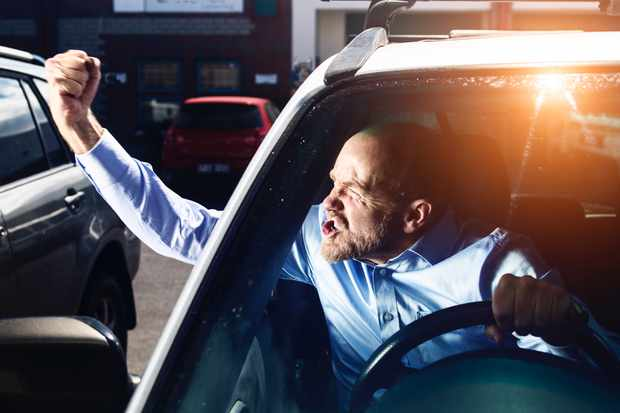 Why do people become aggressive when driving? © Getty Images