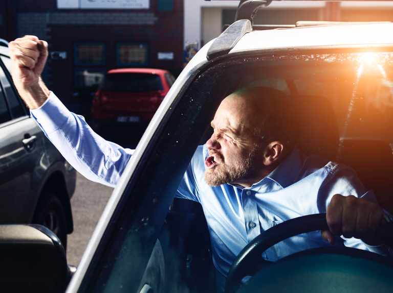 Why do people become aggressive when driving?