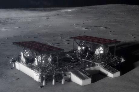NASA 'pallet lander concept' could be coming to a Moon near you soon © NASA/PA