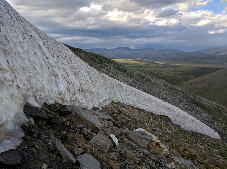 Climate change causing Mongolian 'eternal ice' to melt