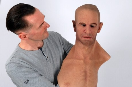 One-fifth of people fooled by hyper-realistic masks, study finds © University of York/PA