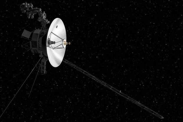 An artist's concept of NASA's Voyager spacecraft © NASA/PA
