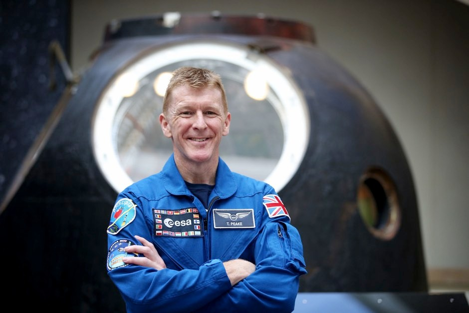 Tim Peake (pictured) has said that investment in R&D allows UK to reap rewards © Jane Barlow/PA