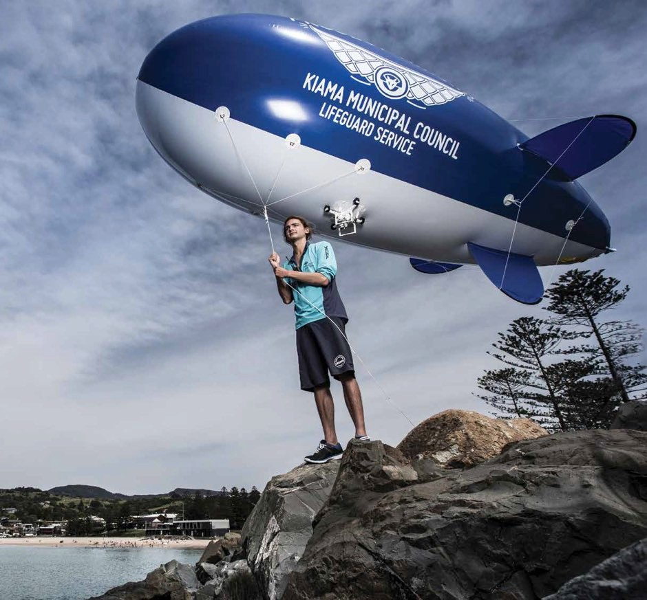 Kye Adams hopes that his Project Airship will stop shark culling and the deployment of shark nets
