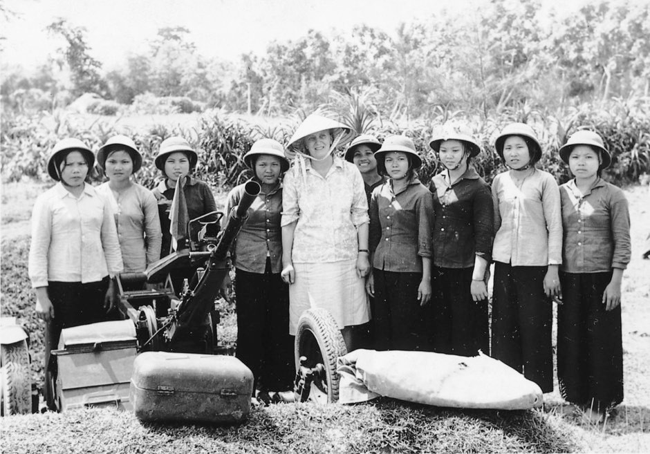 Dorothy visited North Vietnam at the height of the war in 1971 © The Hodgkin Family