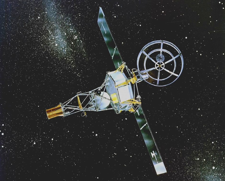 NASA's Mariner 2 flew past Venus in 1962 and was the first space probe to encounter another planet © NASA