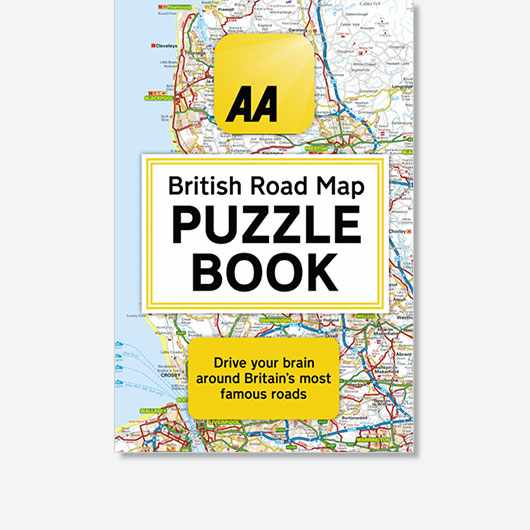 AA British Road Map Puzzle Book by Helen Brocklehurst is out now (£14.99, Little, Brown).