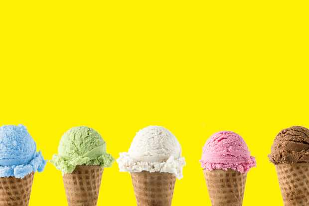 Could I survive just on different flavours of ice cream? © Getty Images