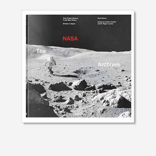 The NASA Archives: 60 Years in Space by Piers Bizony, Andrew Chaikin and Roger Launius is out now (£100, Taschen).