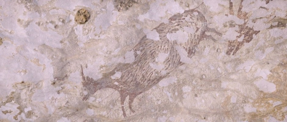 44,000-year-old cave art depicts earliest-known mythical beasts