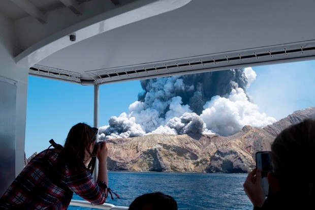 New Zealand volcano: what happened when White Island erupted? © Shutterstock