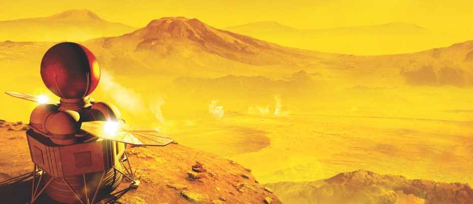 Race to Venus: What we'll discover on Earth's toxic twin ©