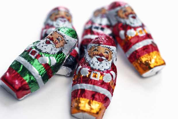 If you ate your Christmas chocs too quickly and swallowed some foil, would you die? © Getty Images