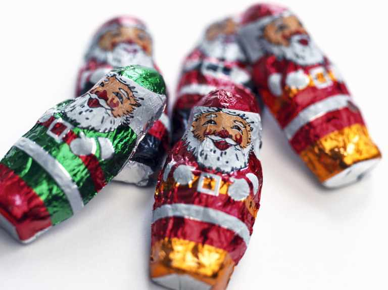 If you ate your Christmas chocs too quickly and swallowed some foil, would you die?